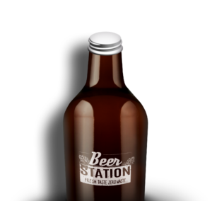 Beer Station Growler Glas 1-Liter