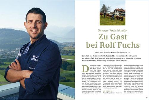 Zu Gast bei Rolf Fuchs